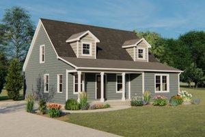 House Plan Design - Cottage Exterior - Front Elevation Plan #1064-22