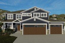 Dream House Plan - Craftsman Exterior - Front Elevation Plan #1060-66
