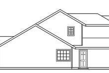 Craftsman Exterior - Other Elevation Plan #124-726