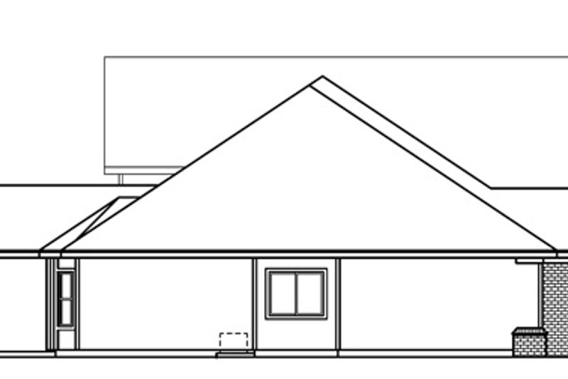 Country Exterior - Other Elevation Plan #124-667 - Houseplans.com