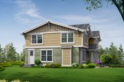 Craftsman Style House Plan - 3 Beds 2.5 Baths 3175 Sq/Ft Plan #132-133 Exterior - Rear Elevation