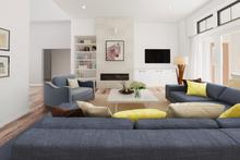 House Plan Design - Farmhouse Interior - Family Room Plan #48-981