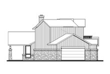 Farmhouse Exterior - Other Elevation Plan #80-156