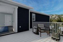 Dream House Plan - Craftsman Exterior - Outdoor Living Plan #1060-66