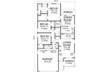 Cottage Floor Plan - Main Floor Plan Plan #513-2086