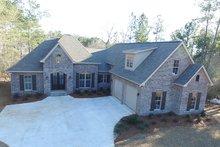 Dream House Plan - European Exterior - Covered Porch Plan #430-133