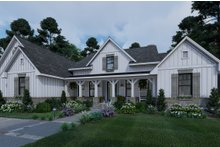 Home Plan - Farmhouse Exterior - Front Elevation Plan #120-265