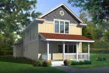 Architectural House Design - Farmhouse Exterior - Front Elevation Plan #95-220