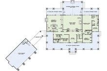 Country Floor Plan - Main Floor Plan Plan #17-2398
