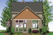 Craftsman Style House Plan - 3 Beds 2.5 Baths 1725 Sq/Ft Plan #48-552 Exterior - Rear Elevation