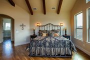 Mediterranean Style House Plan - 4 Beds 4 Baths 3069 Sq/Ft Plan #80-141 Interior - Master Bedroom