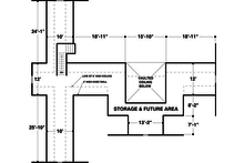 Country style, souther designed house plan, upper level floor plan