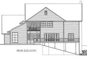Country Style House Plan - 3 Beds 3.5 Baths 3062 Sq/Ft Plan #117-878 Exterior - Rear Elevation