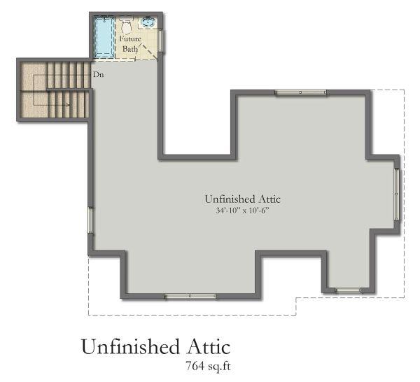 Dream House Plan - Craftsman Floor Plan - Other Floor Plan #1057-8