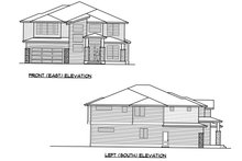 Dream House Plan - Contemporary Exterior - Other Elevation Plan #1066-69