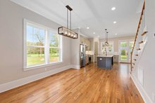 Dream House Plan - Craftsman Interior - Dining Room Plan #461-75
