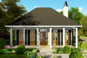 Ranch Style House Plan - 3 Beds 2 Baths 1927 Sq/Ft Plan #406-9655