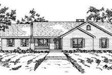 Home Plan Design - Ranch Exterior - Front Elevation Plan #36-159