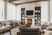 Contemporary Style House Plan - 3 Beds 2 Baths 1704 Sq/Ft Plan #23-2726 Interior - Family Room