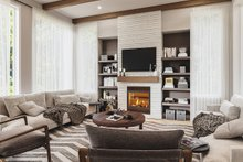 Contemporary Interior - Family Room Plan #23-2726