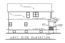 Home Plan - Craftsman Exterior - Other Elevation Plan #20-1213