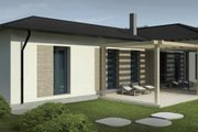 Contemporary Style House Plan - 3 Beds 2 Baths 1676 Sq/Ft Plan #906-15 Photo
