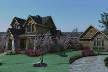 Craftsman Exterior - Front Elevation Plan #120-167