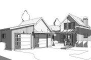 Modern Style House Plan - 3 Beds 2 Baths 1639 Sq/Ft Plan #895-108