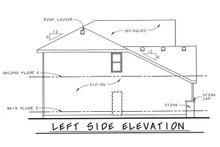 Architectural House Design - Traditional Exterior - Other Elevation Plan #20-1775