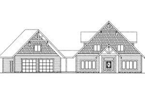 Bungalow Exterior - Front Elevation Plan #117-626