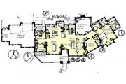 Craftsman Style House Plan - 3 Beds 3.5 Baths 2842 Sq/Ft Plan #921-1 Floor Plan - Main Floor Plan