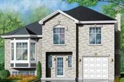 European Style House Plan - 3 Beds 2 Baths 1794 Sq/Ft Plan #25-336 Exterior - Front Elevation
