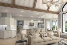 Craftsman Interior - Family Room Plan #54-385