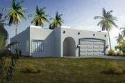 Adobe / Southwestern Style House Plan - 3 Beds 2 Baths 1683 Sq/Ft Plan #1-1327