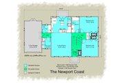 Colonial Style House Plan - 3 Beds 2.5 Baths 1486 Sq/Ft Plan #489-7 Floor Plan - Main Floor Plan
