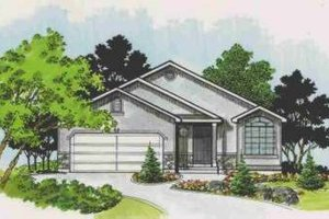 Traditional Exterior - Front Elevation Plan #308-136