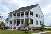 Southern Style House Plan - 4 Beds 3 Baths 2631 Sq/Ft Plan #137-146