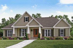 Craftsman Exterior - Front Elevation Plan #430-141