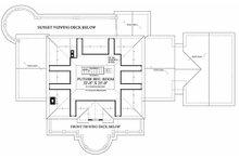 Southern Floor Plan - Other Floor Plan Plan #137-186