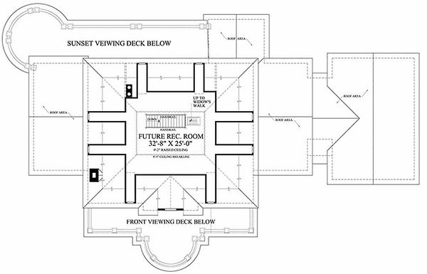 Southern Floor Plan - Other Floor Plan Plan #137-186