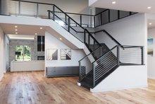 Contemporary Interior - Entry Plan #1066-28