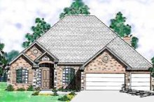 Dream House Plan - European Exterior - Front Elevation Plan #52-183