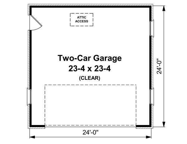 Traditional Floor Plan - Main Floor Plan Plan #21-224