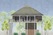 House Plan - 2 Beds 2 Baths 1488 Sq/Ft Plan #575-5 Exterior - Front Elevation