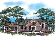 House Design - Craftsman Exterior - Front Elevation Plan #48-616