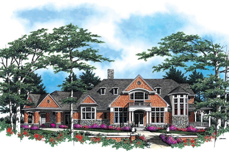 Craftsman Exterior - Front Elevation Plan #48-616 - Houseplans.com