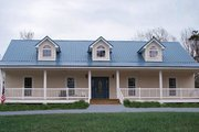 Country Style House Plan - 4 Beds 3 Baths 1856 Sq/Ft Plan #44-115 Photo