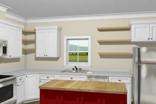 Traditional Interior - Kitchen Plan #44-230
