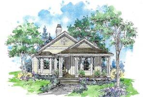 Craftsman Exterior - Front Elevation Plan #970-1