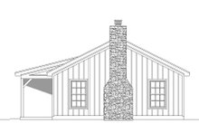 Country Exterior - Other Elevation Plan #932-163